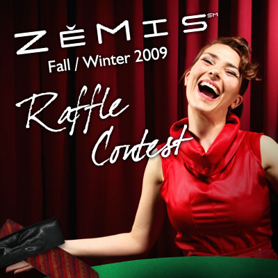 Fall/Winter 2009 Raffle Contest